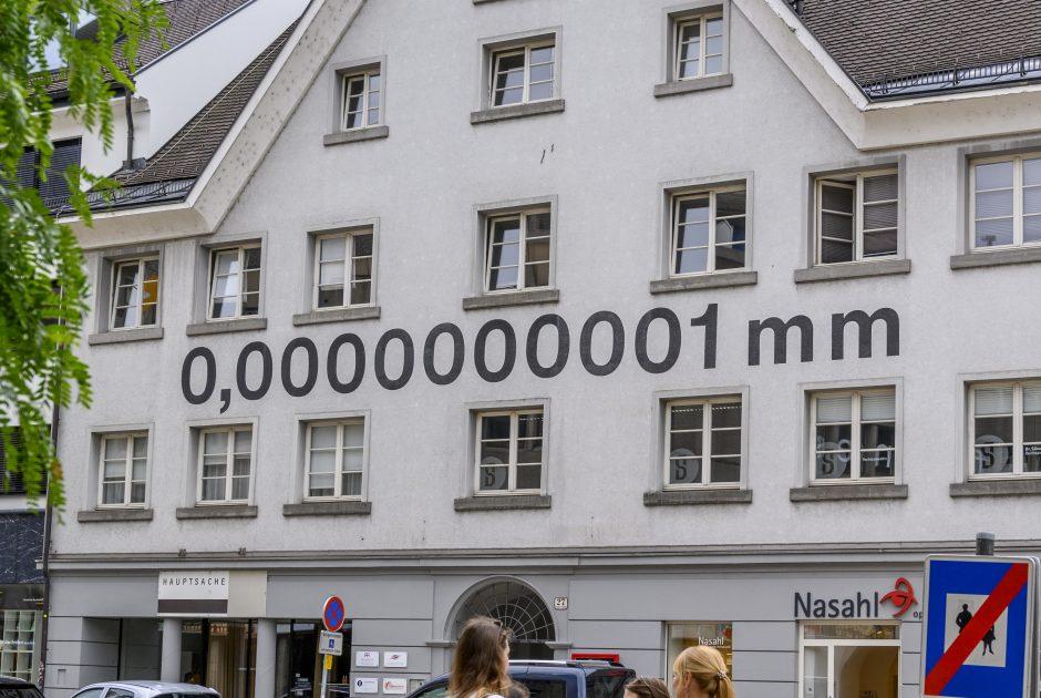 Stadtführung Kunstinstallation © Gregor Lengler / Vorarlberg Tourismus