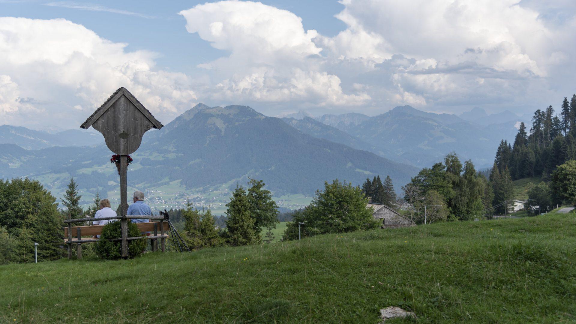 Bödele - Ausblick Bregenzerwald  (c) Martin Vogel / Vorarlberg Tourismus