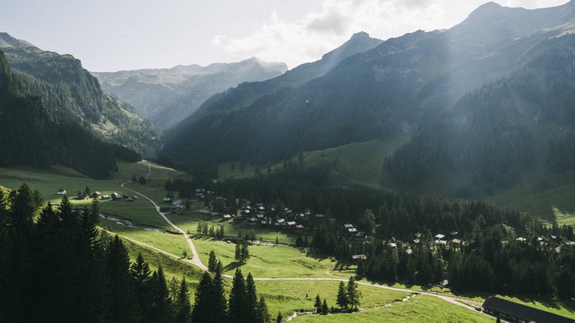 Nenzinger Himmel (c) Dominic Berchtold / Vorarlberg Tourismus