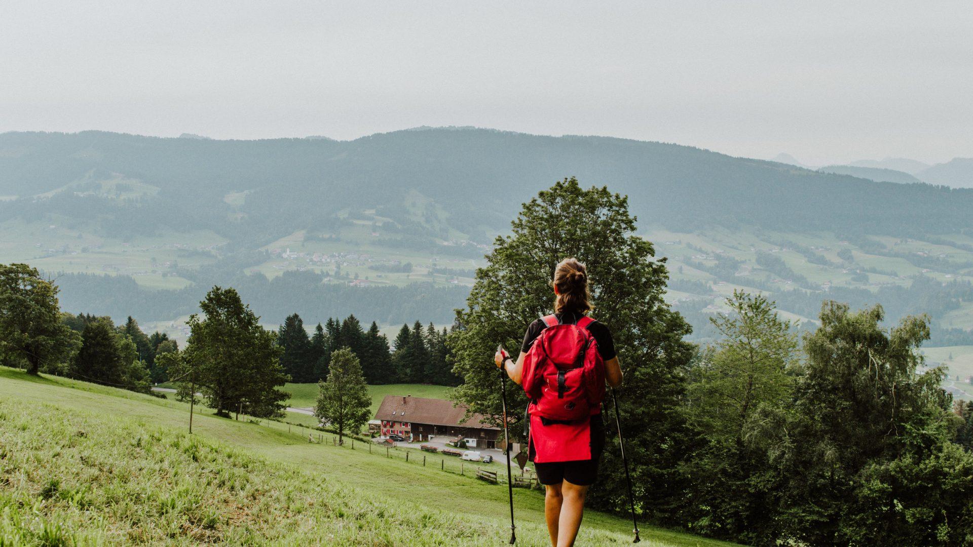von Sulzberg Richtung Riefensberg (c) Nina Bröll / Vorarlberg Tourismus