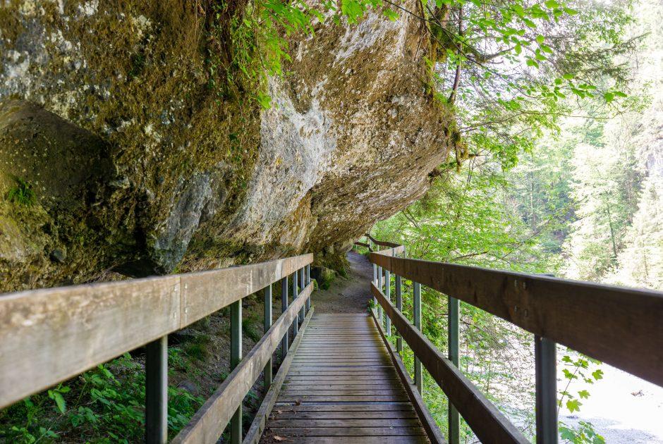 Bürser Schlucht © Bernd Hofmeister / Vorarlberg Tourismus