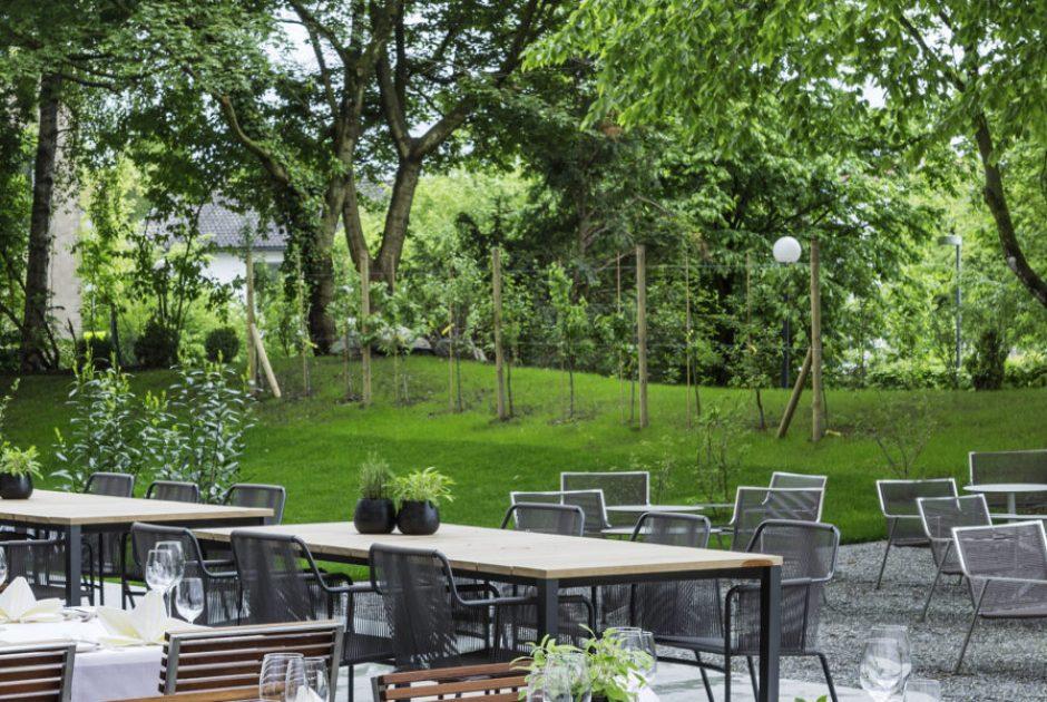 Hotel Schwärzler Bregenz, Restaurant und Garten (c) Hotel Schwärzler