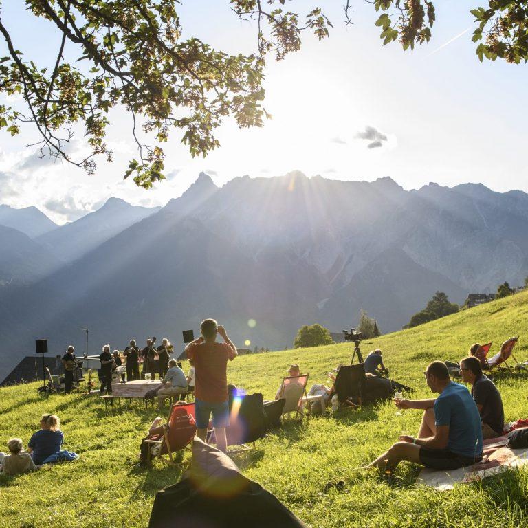 Jazz picknick Montafoner Resonanzen (c) Patrick Saely I Montafon Tourismus GmbH