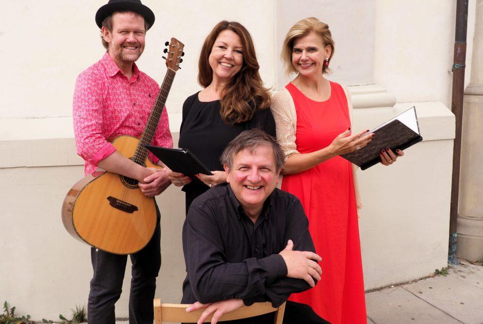 Yasmin Ritter, Renate Bauer, Martin Sommerlechner und Konrad Bönig
