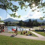 Freibad Schwimmbad Riezlern