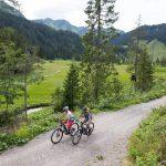 Mit dem Mountainbike zur Alpe Melköde