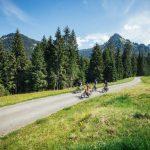 Mountainbiker in Schönenbach