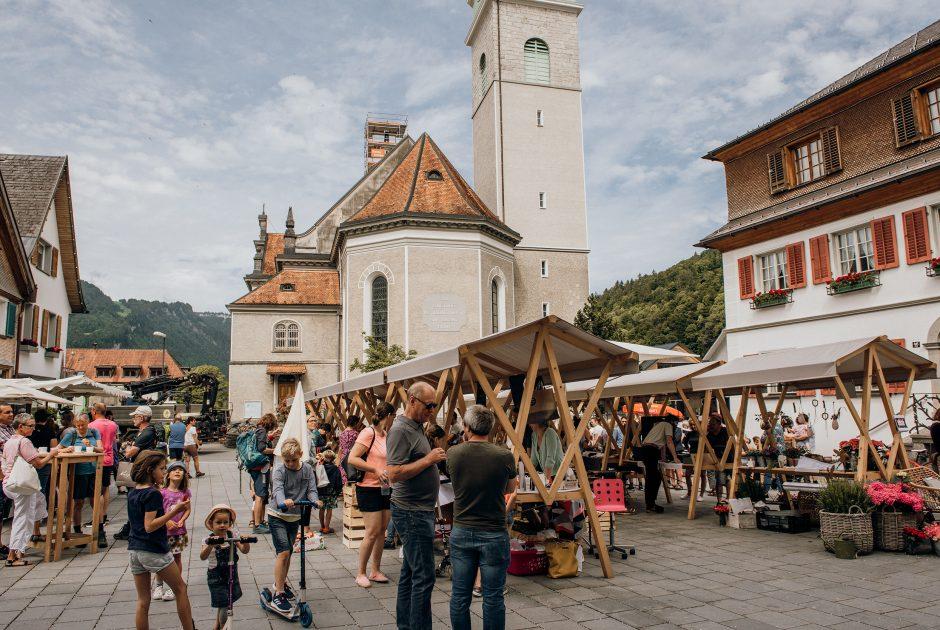 Wochenmarkt Bezau (c) witus