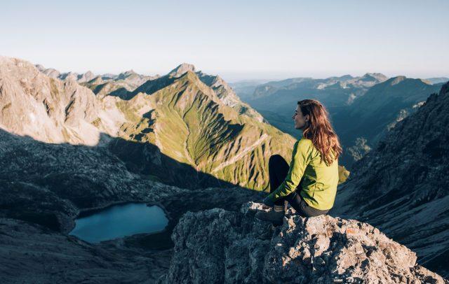 Alpines Wandern am Arlberg (c) Daniel Zangerl I Lech Zürs Tourismus