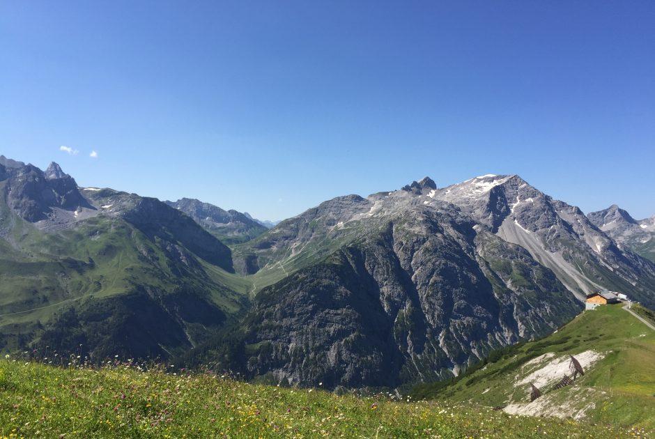 Balmalp bei Lech im Sommer © Daniel Rohner / Vorarlberg Tourismus