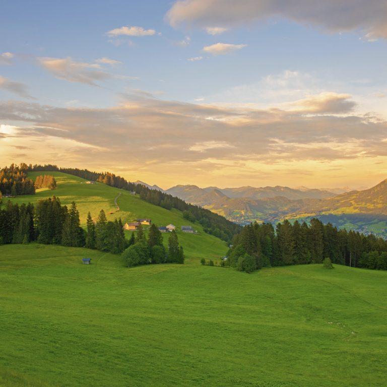 Bödele Ausblick, Bregenzerwald © Popp Hackner / Vorarlberg Tourismus