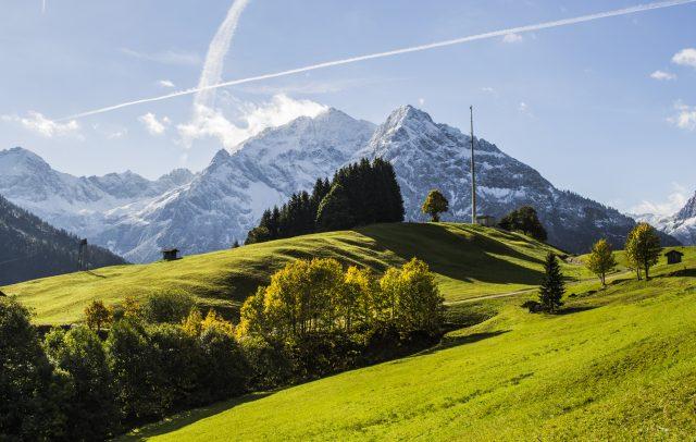 Herbst Rohrweg ©Kleinwalsertal Tourismus eGen | Fotograf: Carolin Schratt