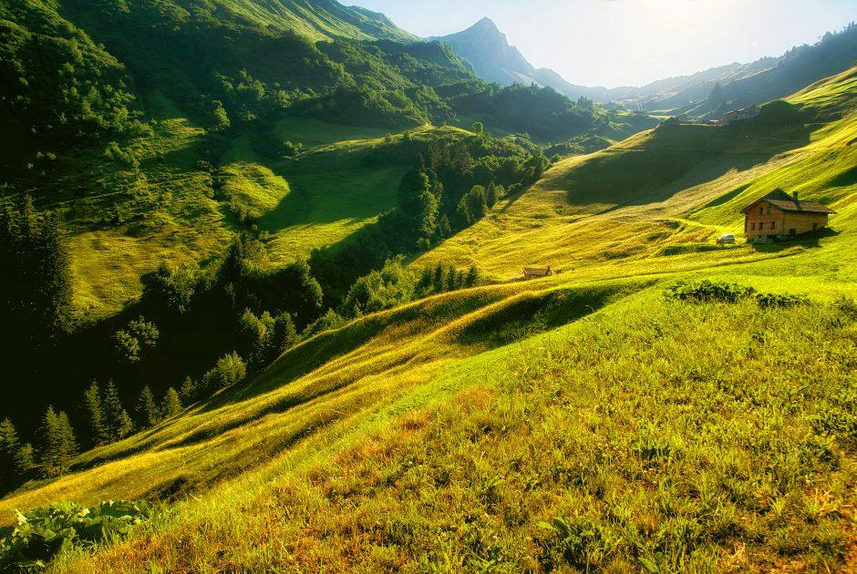 Schluchtensattel-Runde (c) Fabio Sperger / Alpenresort Walsertal