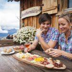 Einkehr bei der Breithornhütte