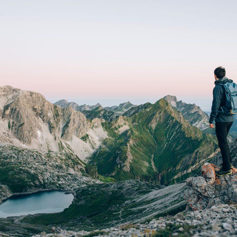 Alpines Wandern (c) Daniel Zangerl - Lech Zürs Tourismus