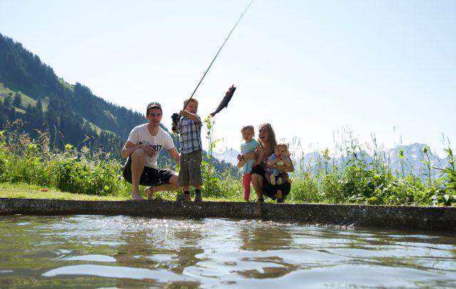 Fischen (c) Alpenresort Walsertal