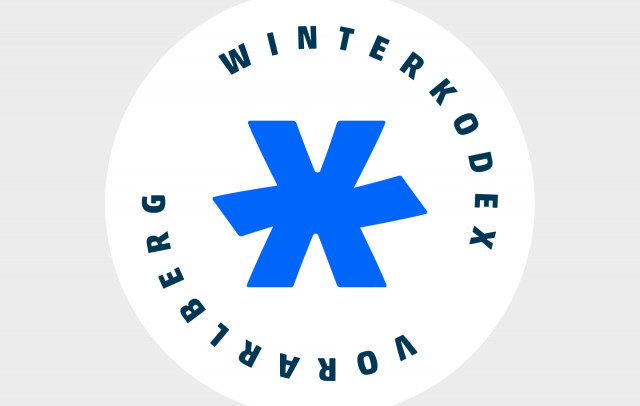 Siegel klein Winterkodex Vorarlberg (c) go biq, Dornbirn