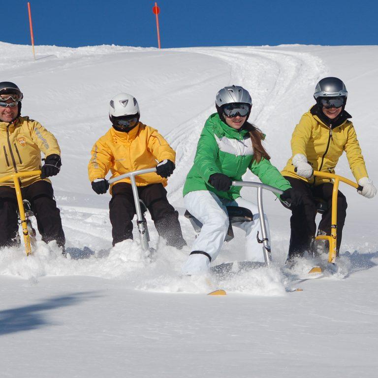 Kleinwalsertal Snowbike (c) Kessler Sport - Kleinwalsertal Tourismus