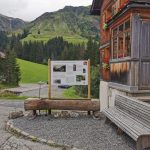 Wanderstartplatz Schröcken