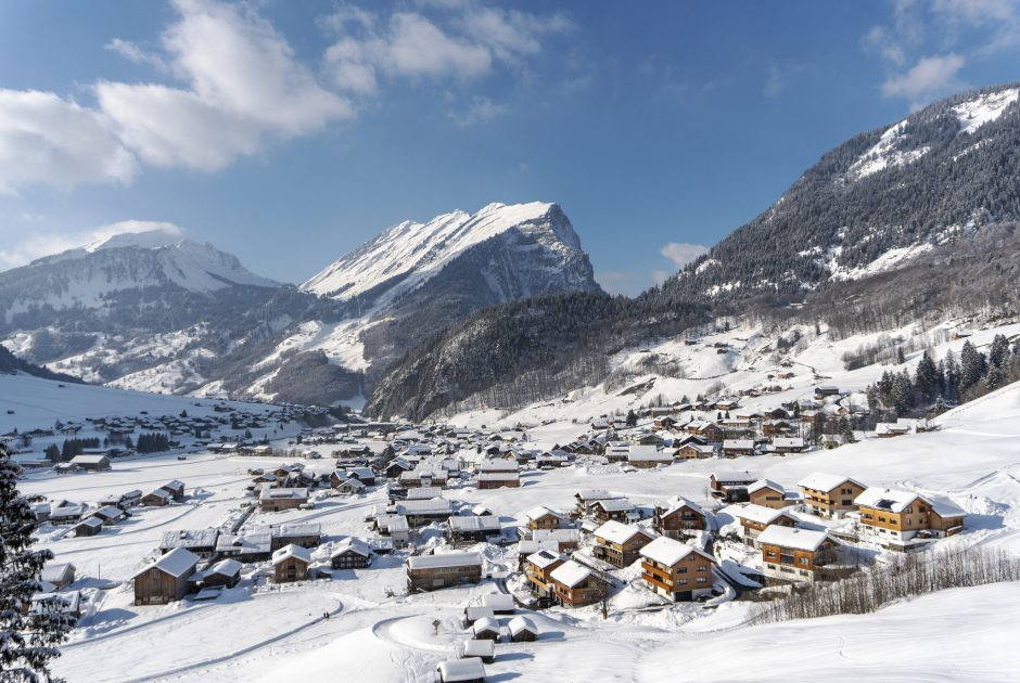 Au im Bregenzerwald im Winter © Katrin Preuss / Vorarlberg Tourismus