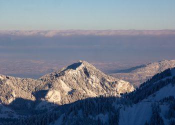 Ausblick Skigebiet Laterns © Marvin Schenk / Vorarlberg Tourismus