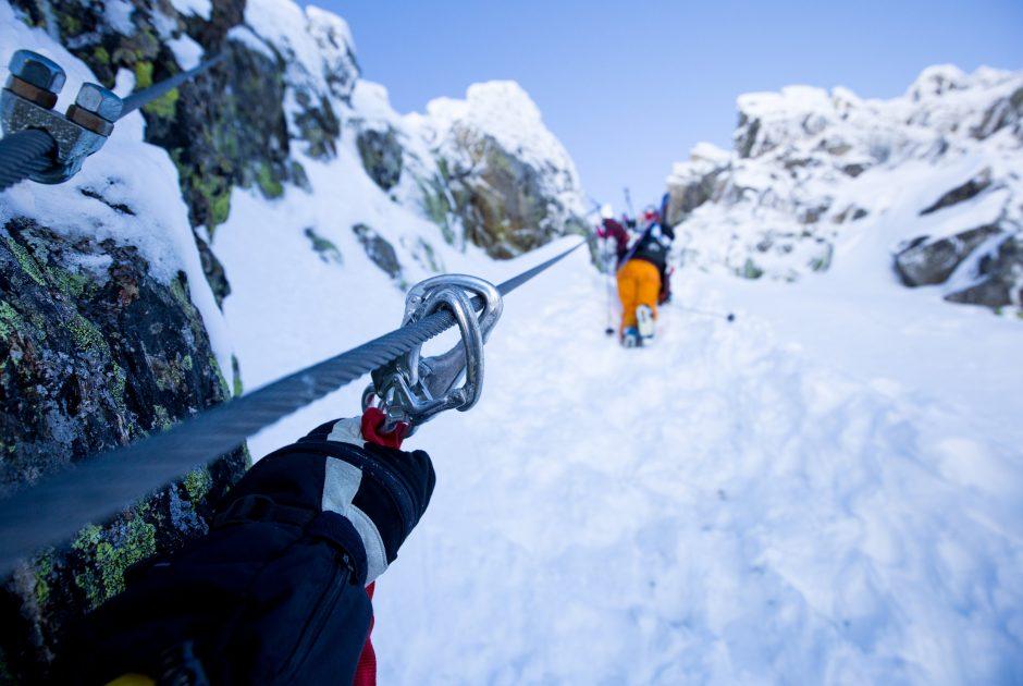 Aufstieg auf die Zamangspitze, Ski Ride Vorarlberg (c) Gijs Hardeman / Vorarlberg Tourismus GmbH