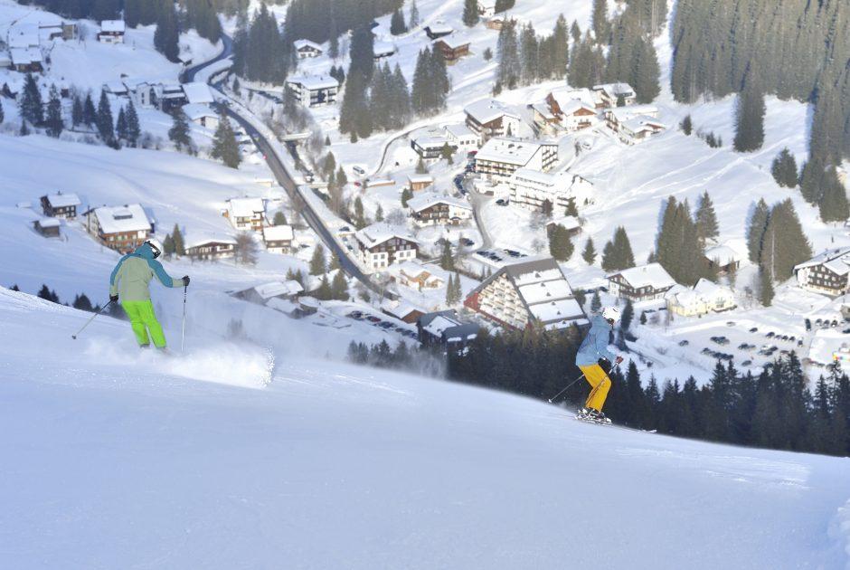 Skigebiet Gargellen © Sepp Mallaun / Vorarlberg Tourismus