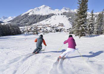 Skigebiet Lech Oberlech © Sepp Mallaun / Vorarlberg Tourismus