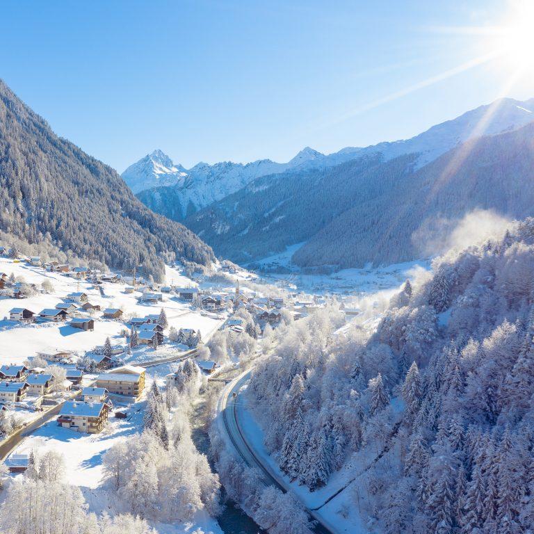 Gaschurn im Winter © Stefan Kothner / Montafon Tourismus GmbH