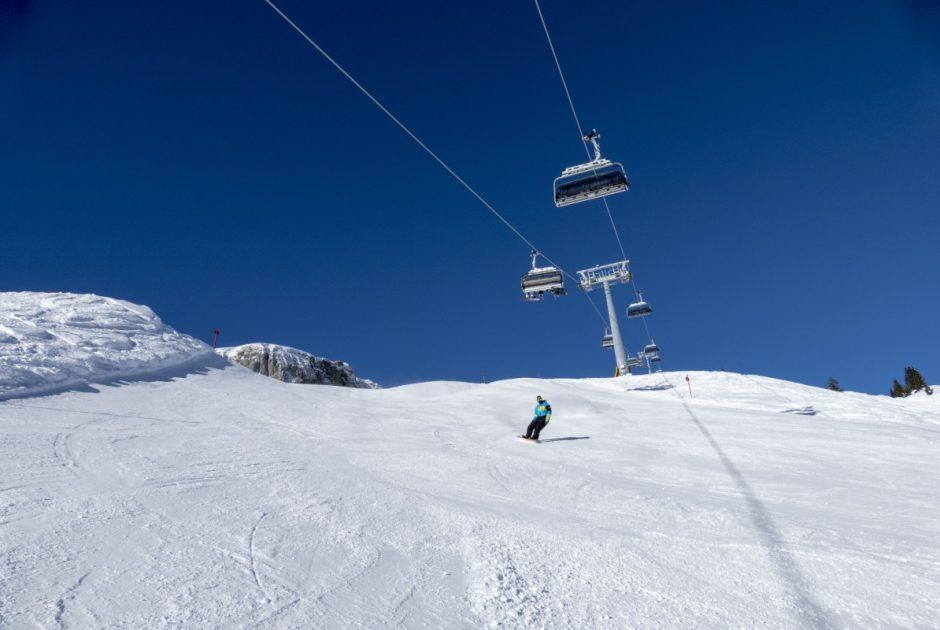 Olympiabahn Skigebiet Ifen, Kleinwalsertal(c) Oberstdorf Kleinwalsertal Bergbahnen