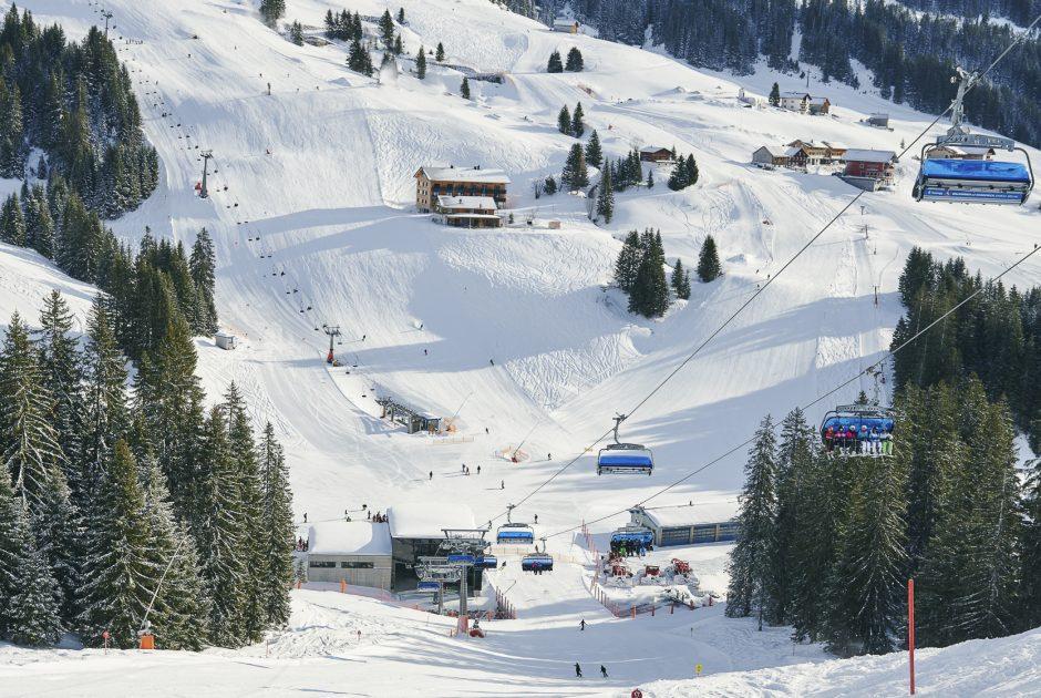 Skigebiet Damüls-Mellau © Alex Kaiser / Bregenzerwald Tourismus