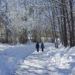 Schöner Winterwanderweg