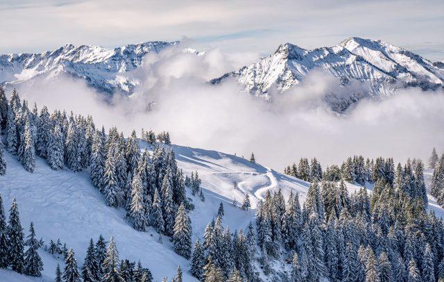 Winterlandschaft Niedere Andelsbuch (c) Nora Fröhlich - Bregenzerwald Tourismus