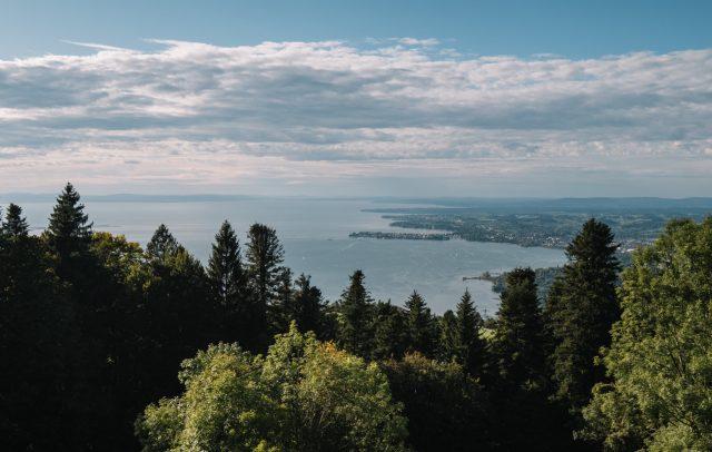 Blick auf den Bodensee vom Pfänder © Nina Bröll / Vorarlberg Tourismus