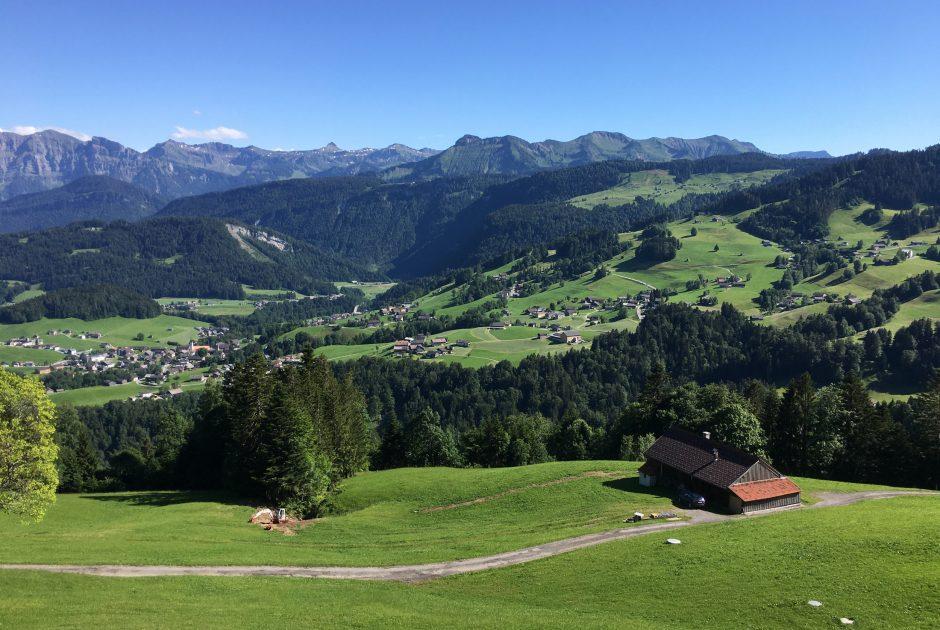 Landschaft Tour Bödele zum Brüggele in Alberschwende © Lukas Rinnhofer / Vorarlberg Tourismus