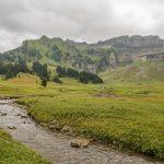 Alpbach, Blickrichtung Kanisfluh