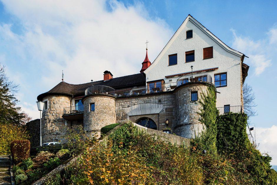 Burgrestaurant Gebhardsberg (c) Markus Gmeiner - Vorarlberg Tourismus