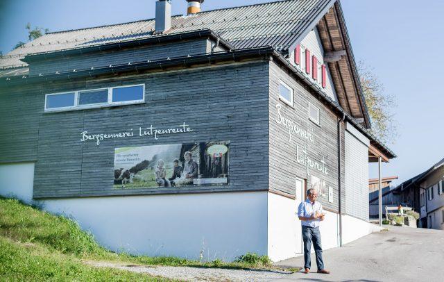 Bergsennerei Lutzenreute mit Rudolf Sagmeister © Anja Fontain / Vorarlberg Tourismus