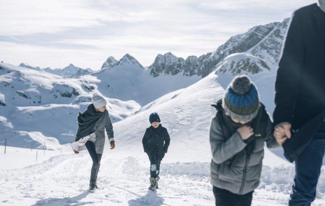 Winterwandern (c) Daniel Zangerl - Lech Zürs Tourismus