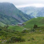 Blick auf Alpe Batzen