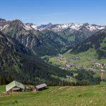 Blick auf Alpe Kuhgehren