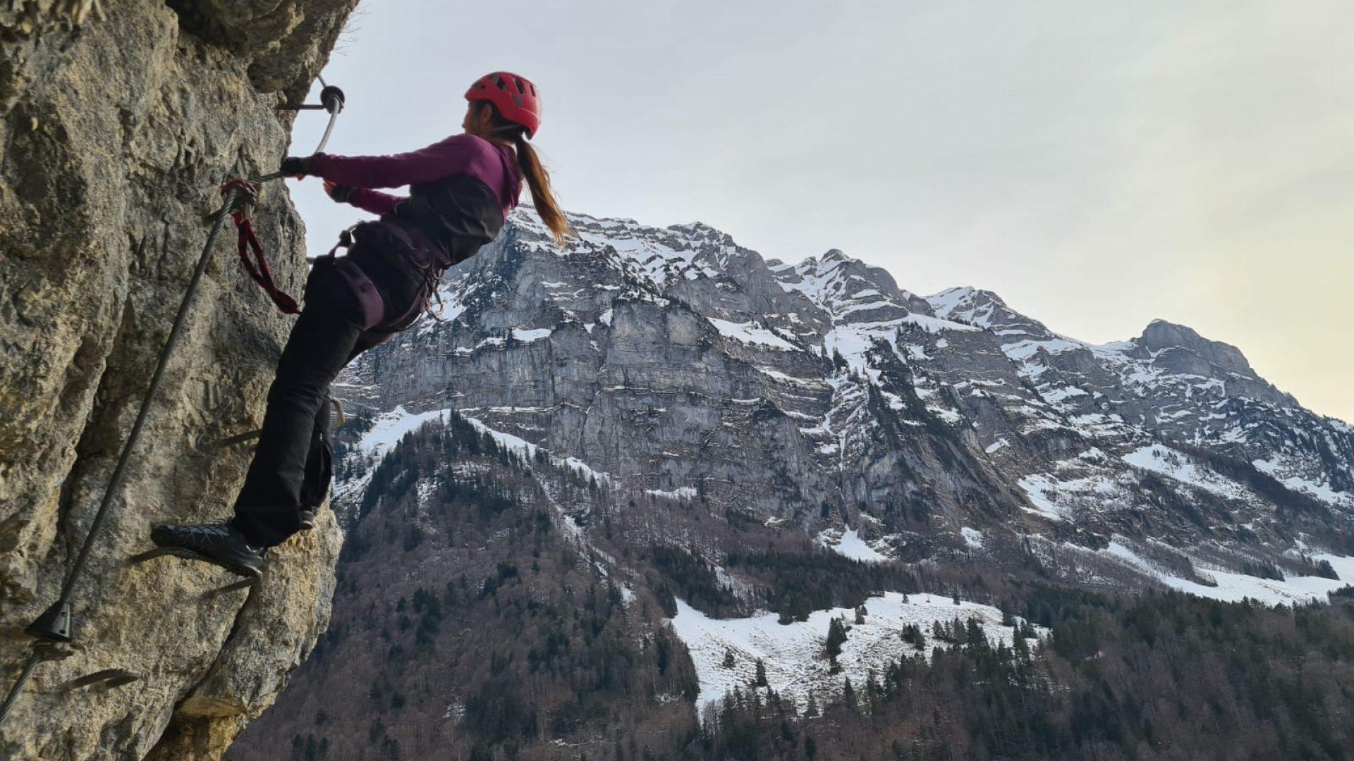 Wälder Klettersteig in Schnepfau