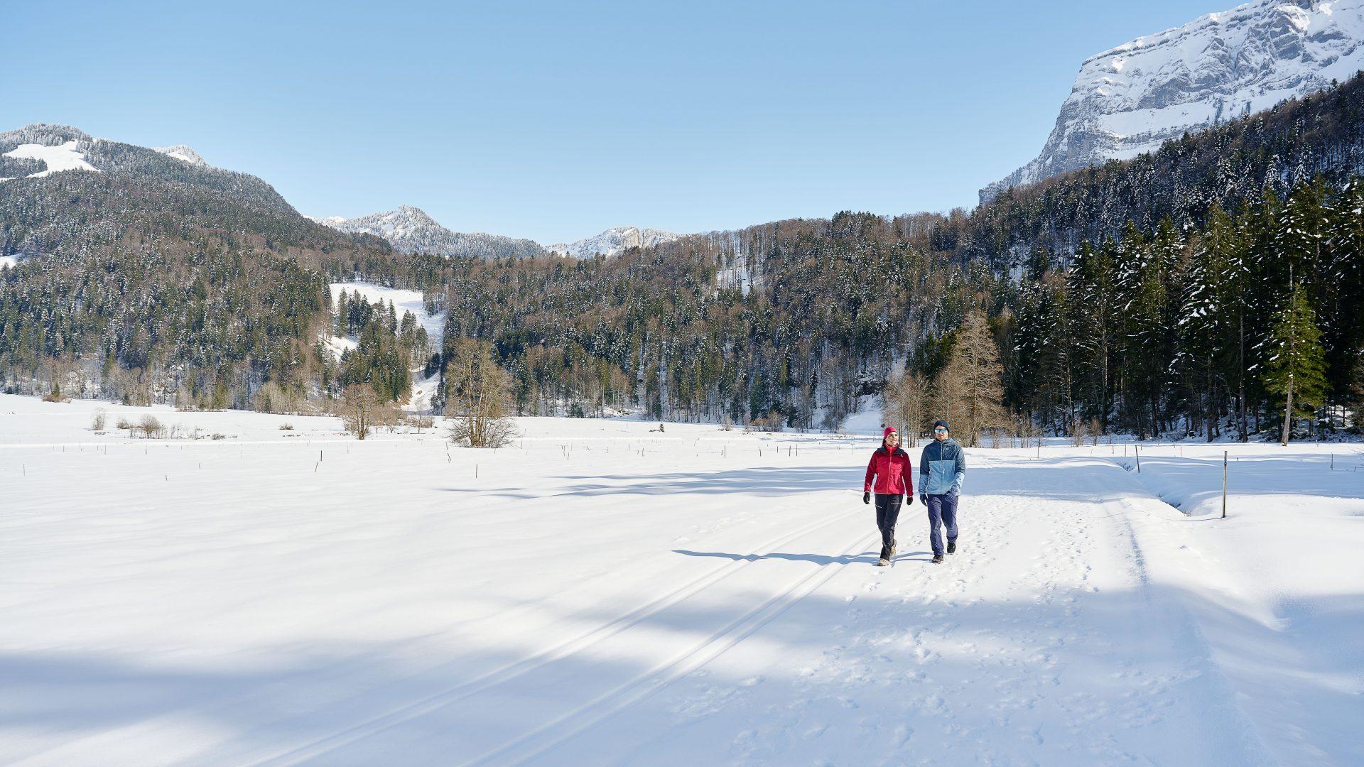 Winterwandern in Bizau