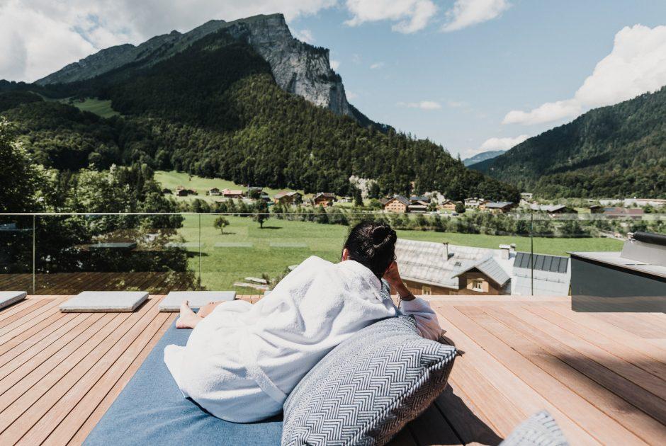 Entspannen im Hotel Adler, Au © nussbaumerphotography / Hotel Adler & Rössle GmbH