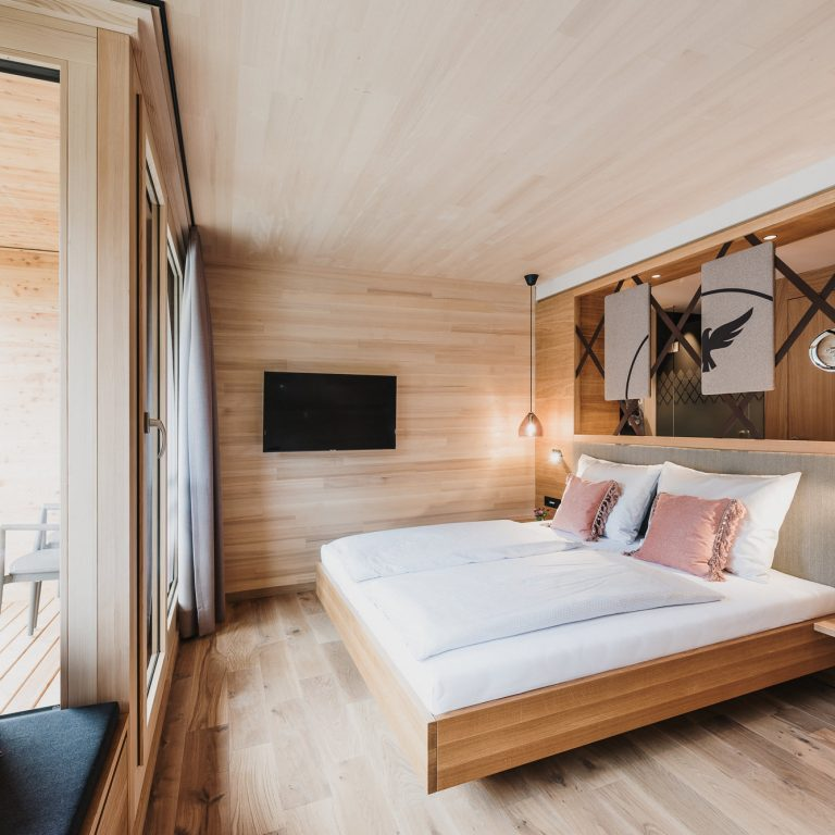 Zimmer im Hotel Adler, Au © nussbaumerphotography / Hotel Adler & Rössle GmbH