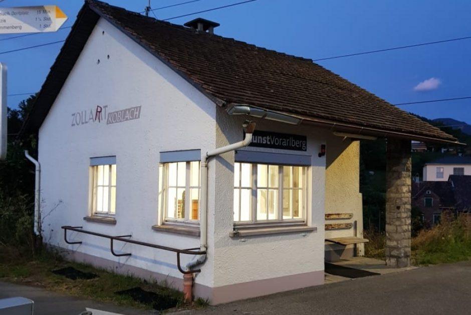 Schauraum ZollART Koblach (Altes Zollamt) (c) Verein KunstVorarlberg