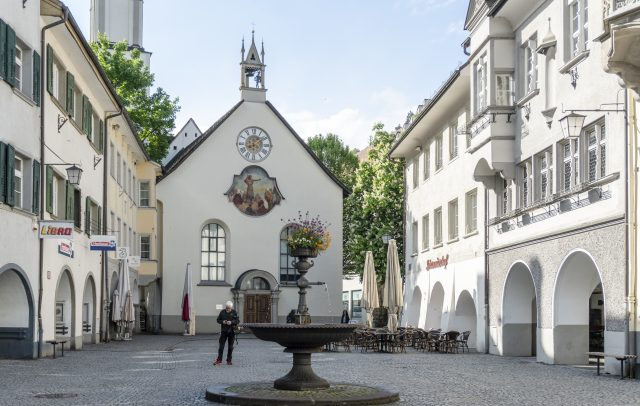 Feldkirch Innenstadt Johanniterkirche 2 (c) Vorarlberg Tourismus I Agnes Ammann