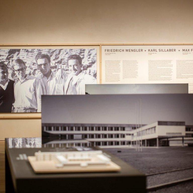 Ausstellung Karl Sillaber und C4 Architekten
