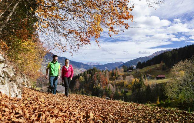 Herbstwandern © Stefan Kothner / Montafon Tourismus GmbH, Schruns
