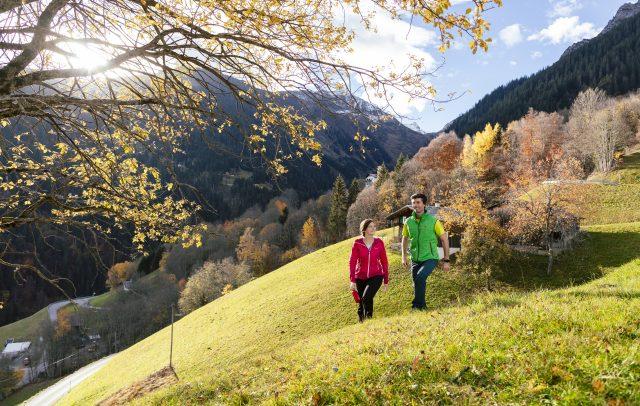 Herbstwandern in Schruns-Tschagguns (c) Stefan Kothner I Montafon Tourismus